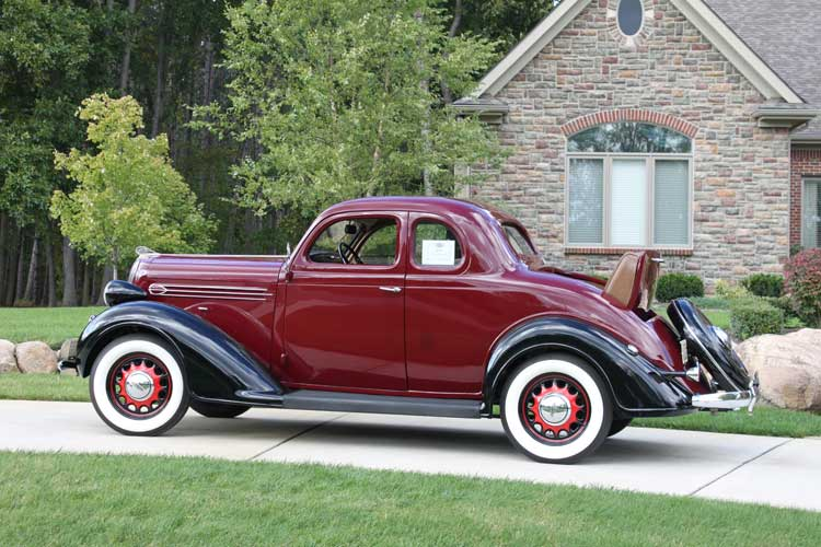 1936 Plymouth P2 Deluxe Coupe