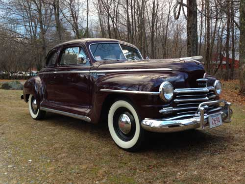 1947 Plymouth Special Deluxe Club Coupe