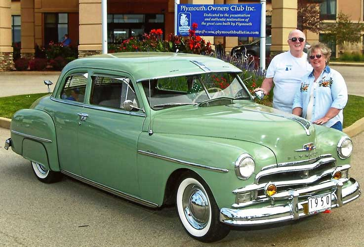1950 Plymouth P20 Club Coupe