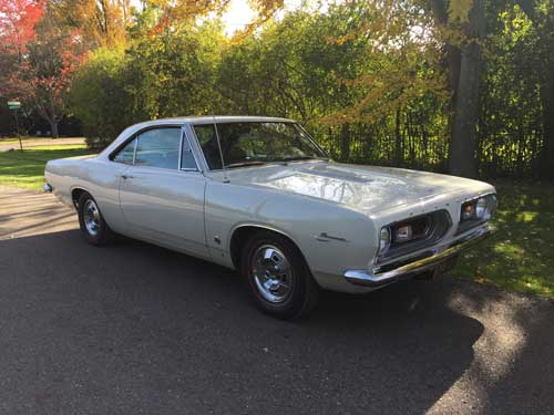 1967 Barracuda Formula 'S' Coupe