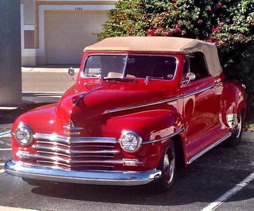 1948 Plymouth Convertible Club Coupe