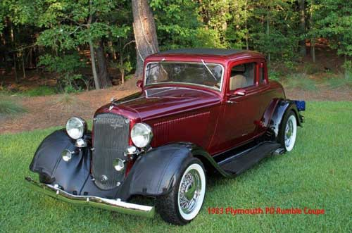 1933 Plymouth Rumble Coupe